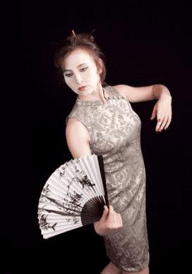 Женщина японка 1