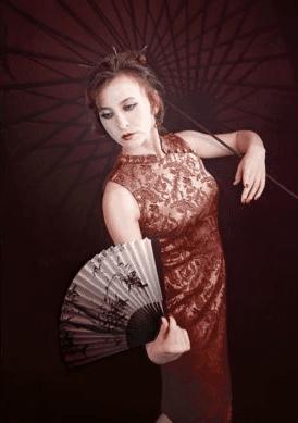 Женщина японка 2