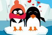 Забавные пингвины
