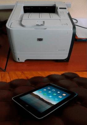 Принтер и планшет 1