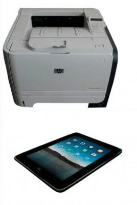 Принтер и планшет 2